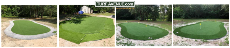 adding fringe to putting greens